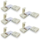 10mm L-shape Connectors for 5050 RGB LED Strip Light