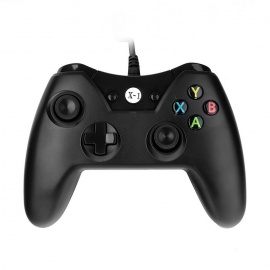 Wired Gamepad Game Console for Xbox One - Black