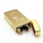 High Quality Metal Electronic Cigarette Lighter - Golden