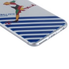 Benks Memo Series 2016 Euro Cup Case para IPHONE 6 / 6S - Branco + Azul