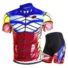 Outdoor Cycling Men's Polyester Wearing Suit - Red (XL)