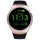 KW18 Full Circular Screen Heart Rate Smart Watch for Phone - Golden