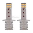 MZ H1 6W 12-SHARP Chip LED Car Fog Lights DRL Cool White 600lm 12~24V