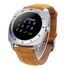 "DM88 1.22"" Smart Watch w/ Heart Rate Monitor - Silver + Orange"
