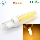 JRLED G9 Dimmable 5W 450lm 4-COB LED Warm White Ceramic Bulbs (2PCS)