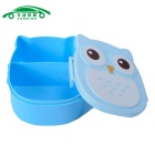 CARKING Cute Cartoon Owl Shaped Lunch Boxes for Children / Student