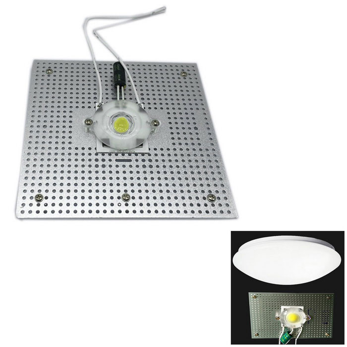WLXY 30W 3000lm 6500K COB Cold White Light Suction Dome Light Source