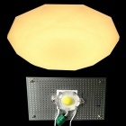 WLXY 18W 3000lm 3000K COB luce bianca calda di aspirazione Dome Light Source