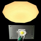 WLXY 12W 3000lm 3000K COB Warm White Light Suction Dome Light Source