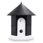 Ultrasonic Outdoor Pet Dog Bark Controller - Black +White