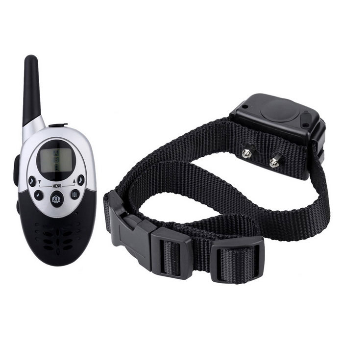 Profesjonell Pet Product Remote Control Dog Collar - Svart