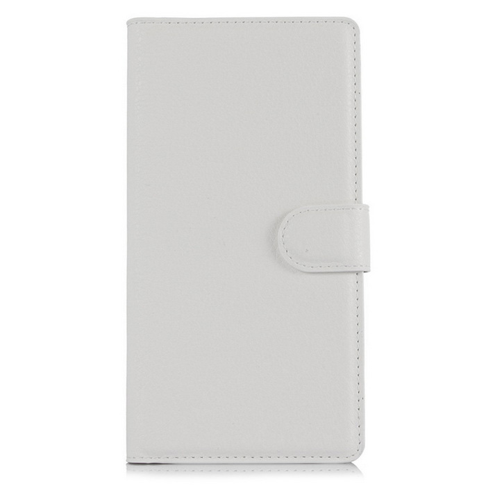 Retro Style Up-Down Flip-Open PU Case for ZTE Zmax 2 /Z958 - White