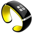 KICCY Trendy L12S OLED Bluetooth Bracelet Watch - Yellow