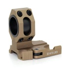 Tactical Quick Release Flashlight Laser Scopes Gun Mount - Mud Color