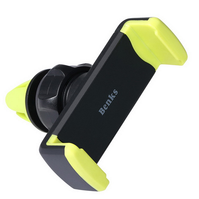 "Benks Super Cool Air Vent Car Mount for Mobile Phone(3.5~6.0"") - Green"