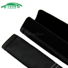 Auto Hook Loop Fastener Safety Seat Belt Cover Shoulder Pads - Black