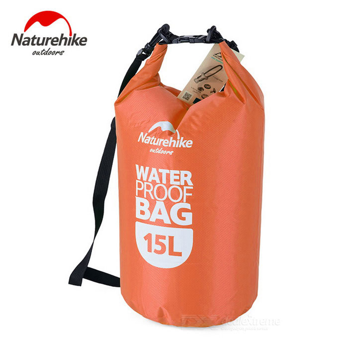 NatureHike Multi-Functional Drifting Waterproof Bag - Orange (15L)