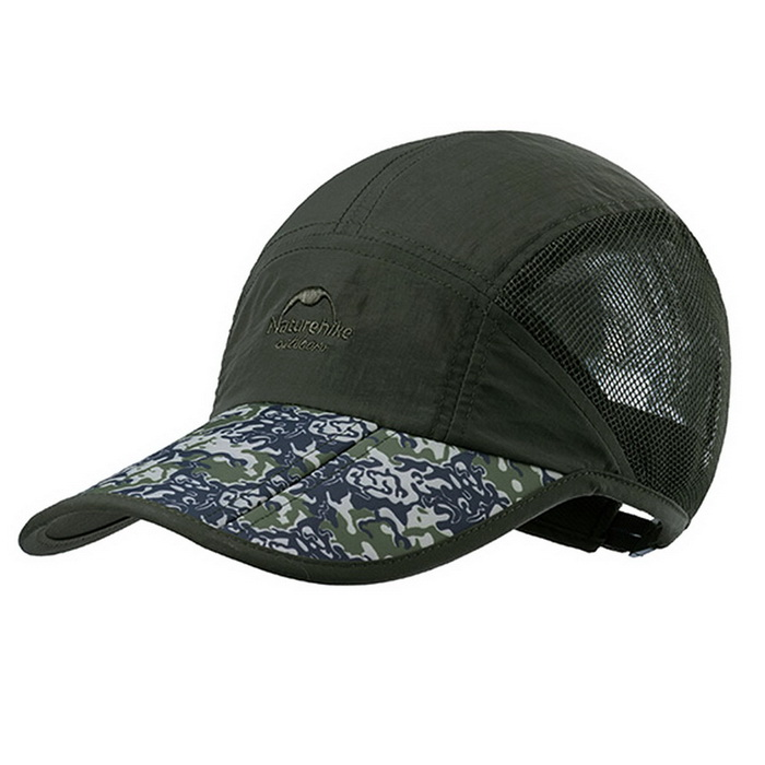 NatureHike Men's Outdoor Quick-dry Baseball Cap - Army Green