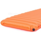 NatureHike de ar inflável do sono Pad Mat / Bed Cushion - Orange