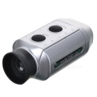 7X18 Golf Range Finder Scope Monocular Telescope - Silver