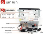 "Junsun 8"" Full Touch 2-Din Car DVD Android GPS Navigation"