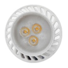 GU10 3W 3-SMD 2835 LED Warm White Lâmpadas Spotlight Regulável - Branco