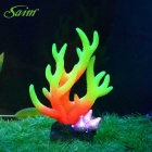 Saim E4AB-219 Aquarium Dekoration Simulation Coral - Gul + Orange
