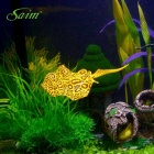 Saim BR-S080 Aquarium Decoration Spot Devil Ray - Yellow + Black