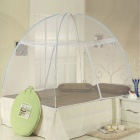 Vertical Quick Installation Automatic Magic Lazy Polyester Net - White