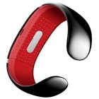 KICCY Trendy L12S OLED Bluetooth Smart Bracelet Watch - Red + Black