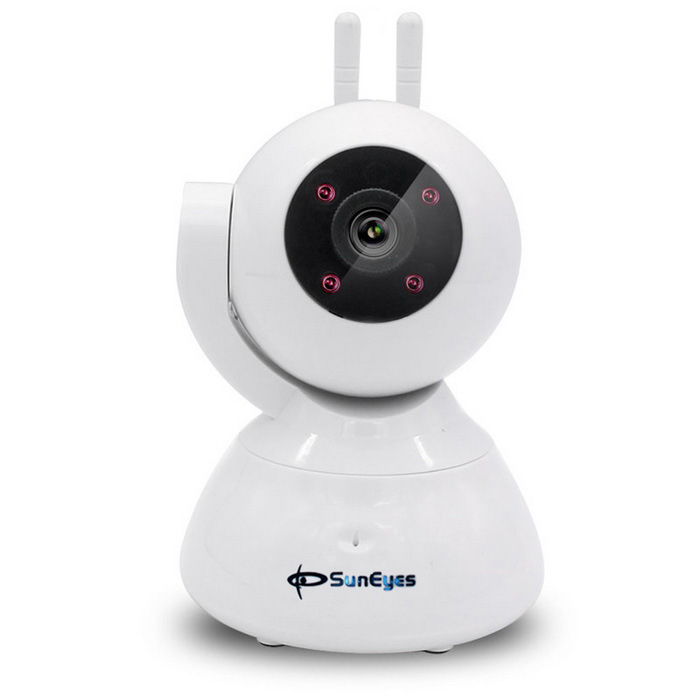 SunEyes SP-S702WA 720P Wireless Two Way Audio P2P IP Camera (US Plugs)