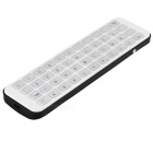 Ipazzport KP-810-56 teclado bluetooth - blanco