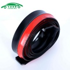 CARKING Carbon Grain Automobile Rubber Strip - Red + Black