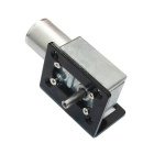 DC 12V 90rpm Reduction Gear Motor com Flange de Montagem