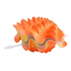 Saim E4HJ Aquarium Dekoration Venky Pearl Shell - Orange