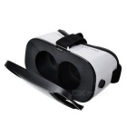 Virtual Reality 3D Glasses + Bluetooth Console - Black + White