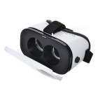 Virtual Reality 3D Glasses + Bluetooth Console - White + Black