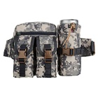 1005 Outdoor Tactical Nylon Waist Bag - Camouflage (20L)