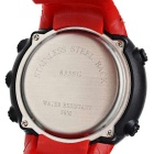 Fashionable Sport Quartz Watch - Red + Black
