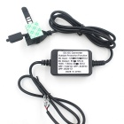 CS-034A1 12V to 5V Waterproof Car USB Charger for Phone - Black