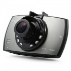 G30 1080P FHD 170 Degree Wide Angle Car DVR - Black