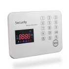 Touch Keypad Color Screen GSM Alarm System - White (US Plugs)