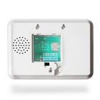 Touch Keypad Color Screen GSM Alarm System - White (US Plug)