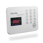 Touch Keypad Color Screen GSM Alarm System - White (AU Plug)
