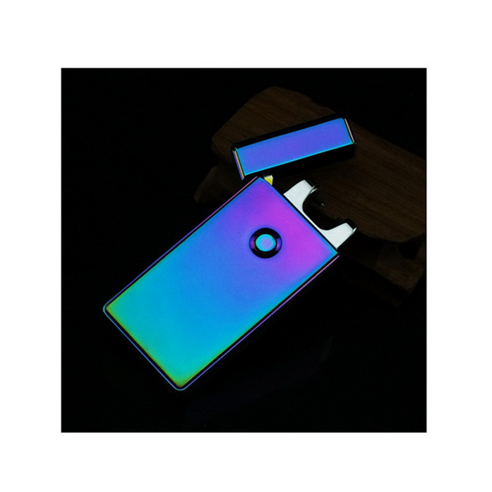 USB Charging Pulse Arc Lighter - Dark PurpleOther Lighters<br>Form  ColorDark PurpleMaterialMetalQuantity1 DX.PCM.Model.AttributeModel.UnitShade Of ColorPurpleTypeUSBFlame ColorVioletWindproofYesPower SupplyRechargeable BatteryCharging Time4~5 DX.PCM.Model.AttributeModel.UnitPacking List1 * lighter1 * USB cable (20cm)<br>