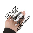 2.4G 6CH RC Helicopter w / 0.3MP Camera - Noir + Blanc