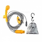 Portátil Caravan Outdoor Van Car Set Shower - Amarelo