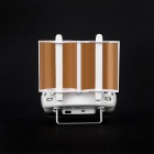 Foldable Extended Range Parabolic Antenna Signal Booster - White
