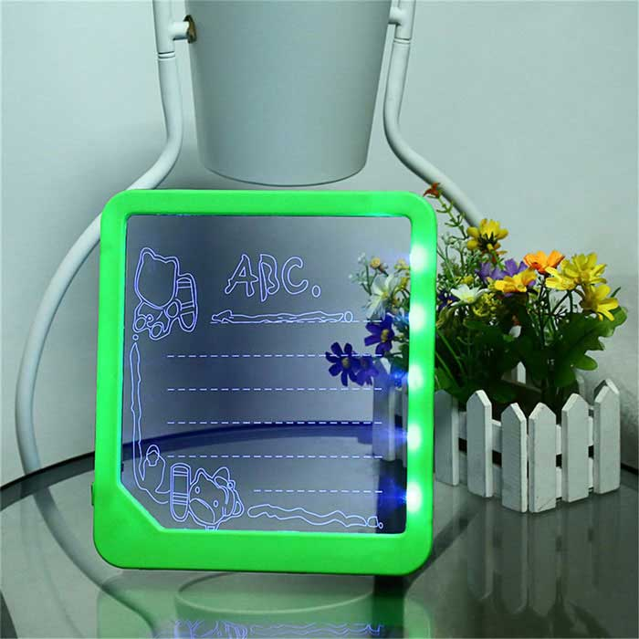 Escrita LED Message Board criativa Escrever Pad - Verde