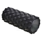 Self Massage Yoga Pilates Exercise Foam Roller - Noir